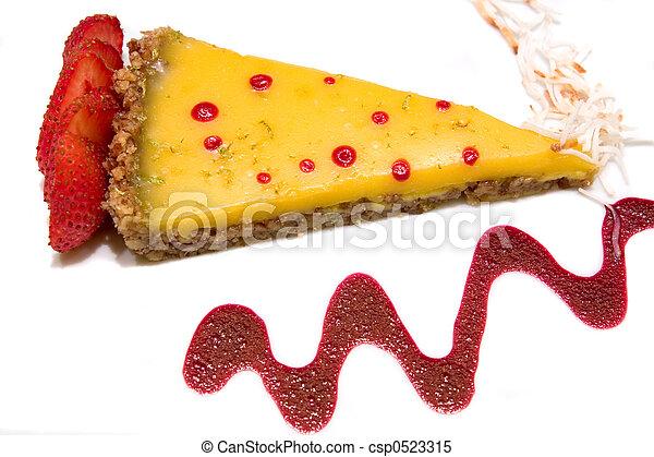 Coconut Tart Cake - csp0523315