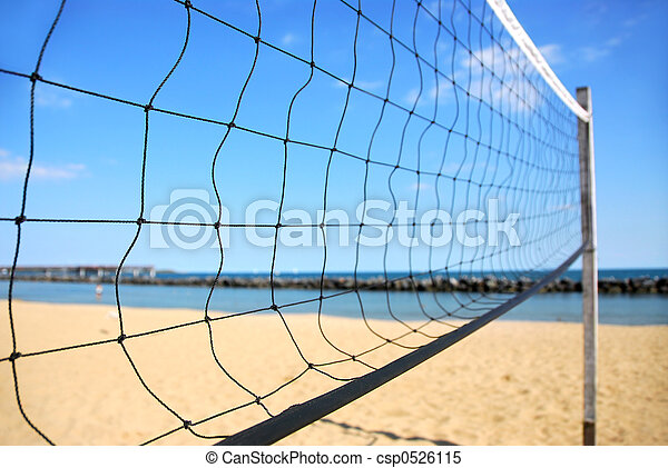 Volleyball net - csp0526115