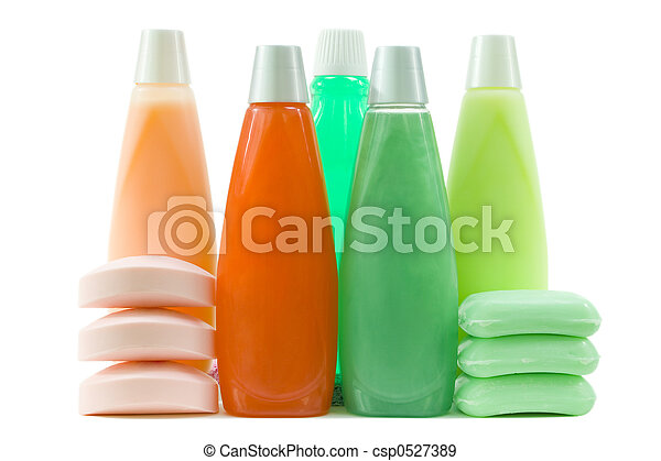 Set of Colorful Hygienic Supplies - csp0527389