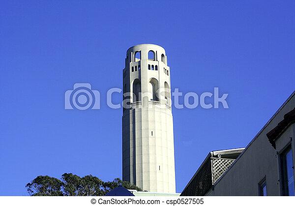 Historic building, SF - csp0527505