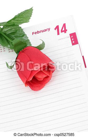 valentine\\\'s, jour - csp0527585