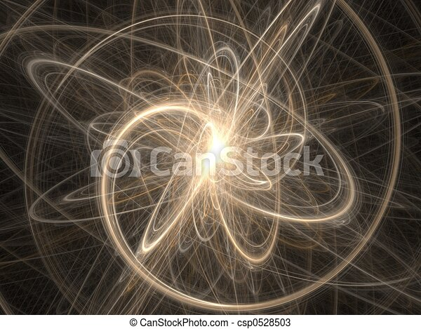 Cosmos fractal graphics - abstract background - csp0528503