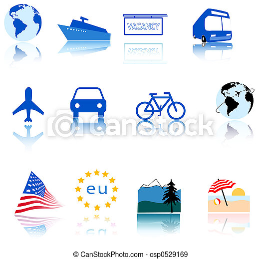 Global Travel Icons - csp0529169