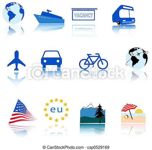 Global Travel Icons - csp0529169