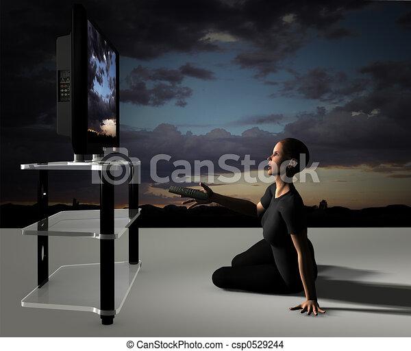 HDTV BigScreen Impact - csp0529244