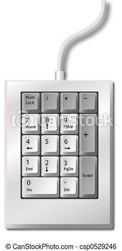 Numeric Keypad - csp0529246