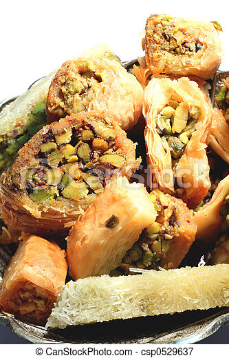 Lebanese confectionery - csp0529637