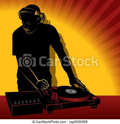 DJ action - csp0530458