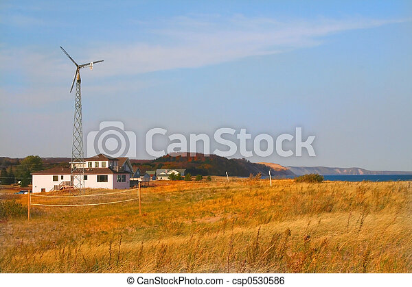 Wind mill - csp0530586