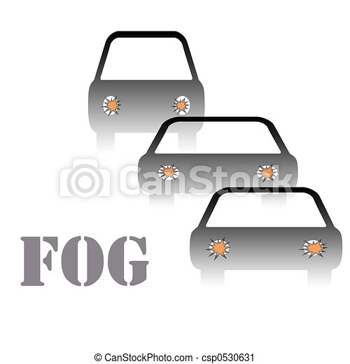 fog warning sign - csp0530631