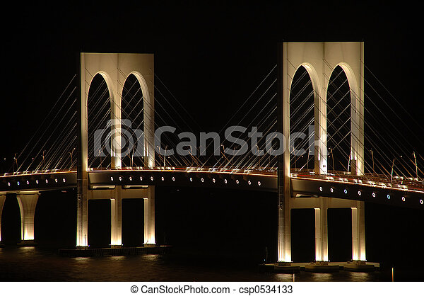 Sai Wan bridge, Maca - csp0534133