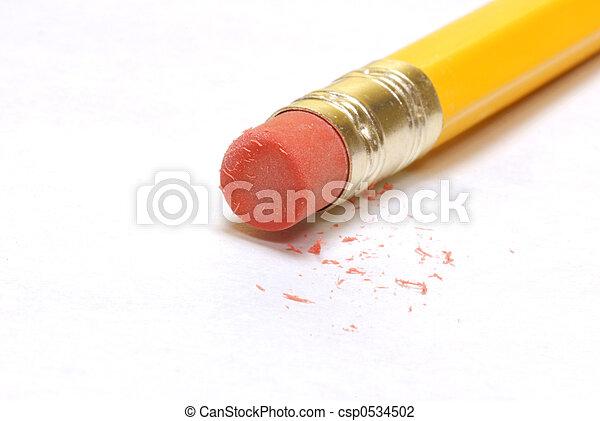 pencil eraser - csp0534502
