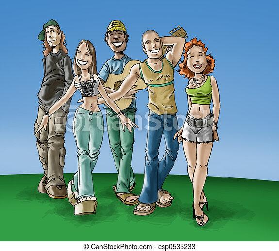 Teens - csp0535233