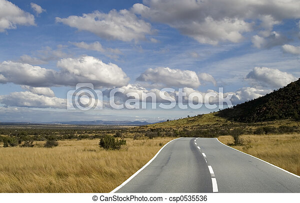The plains highway - csp0535536