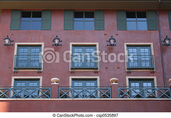 Apartment Windows - csp0535897