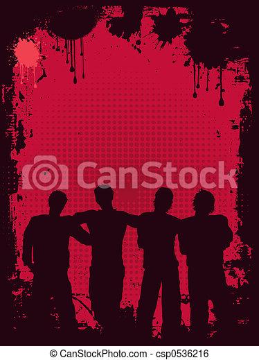 Grunge youth - csp0536216