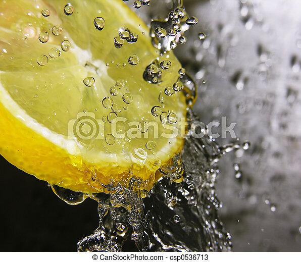 Refreshing lemon - csp0536713