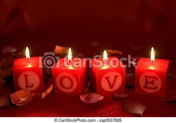 santuário, amor, chamas - csp0537826