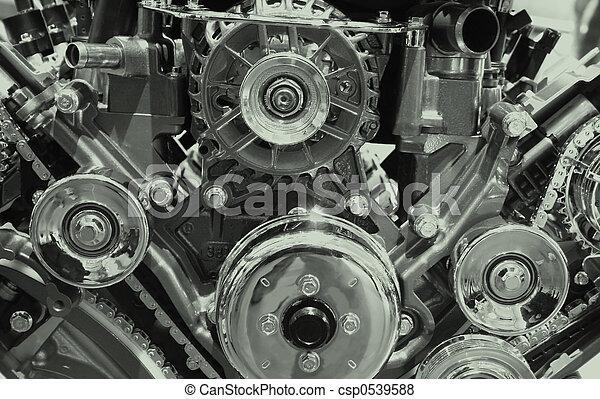 Automobile engine - csp0539588