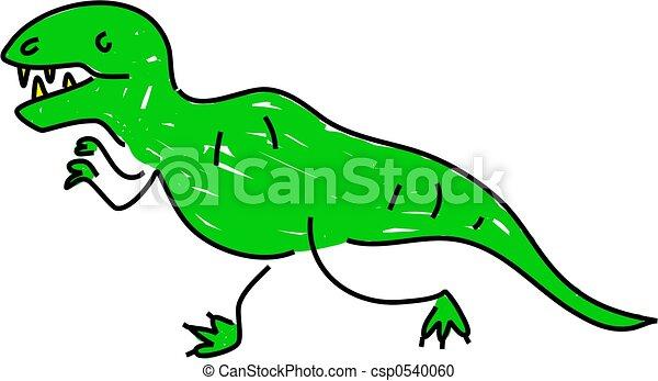 tyrannosaurus - csp0540060