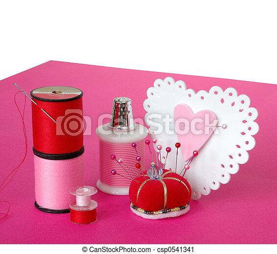 Making Valentine Hearts - csp0541341