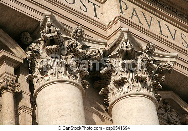 Corinthian columns - csp0541694