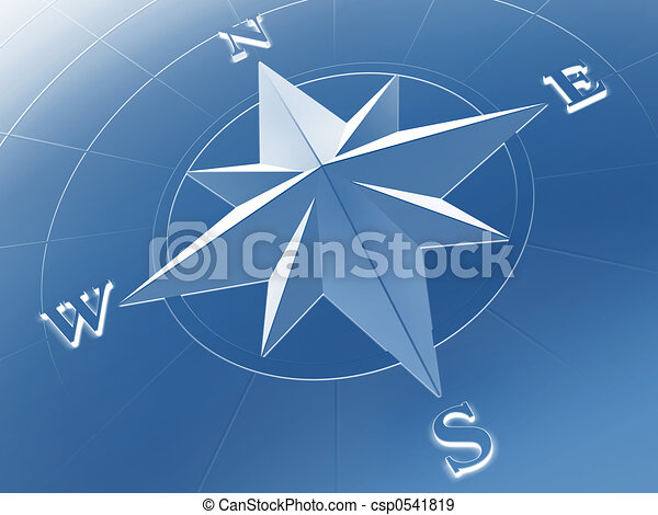 Compass rose - csp0541819