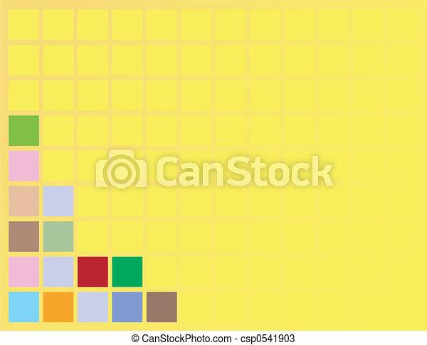 background squares - csp0541903