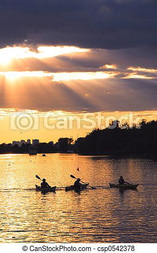 Canoeing - csp0542378