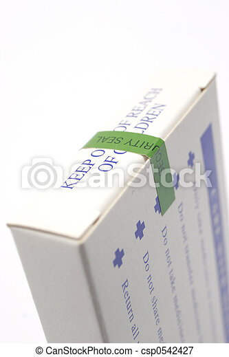 Medicine packet - csp0542427