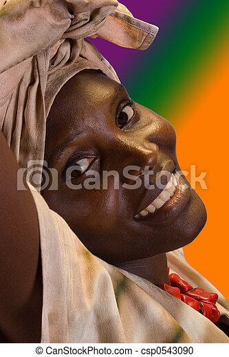 African fashion - csp0543090