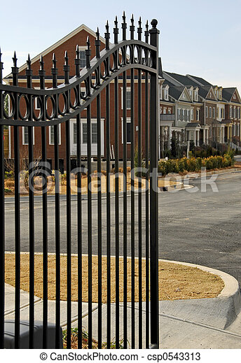 Gated Community - csp0543313