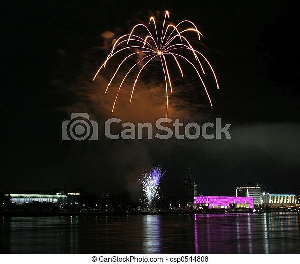 Fireworks #1 - csp0544808