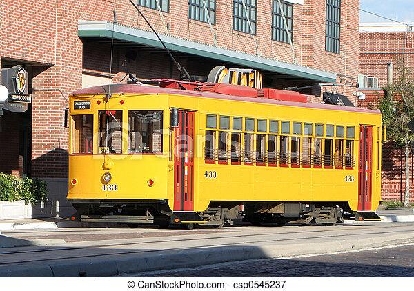 tranvía,  Tampa - csp0545237