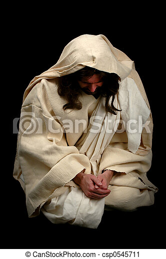 Jesus in Prayer - csp0545711