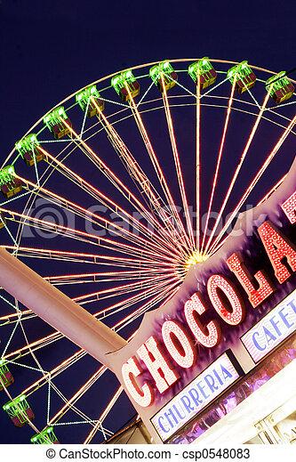 Fairground Scene - csp0548083