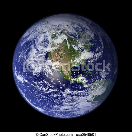 Earth - America - csp0548501
