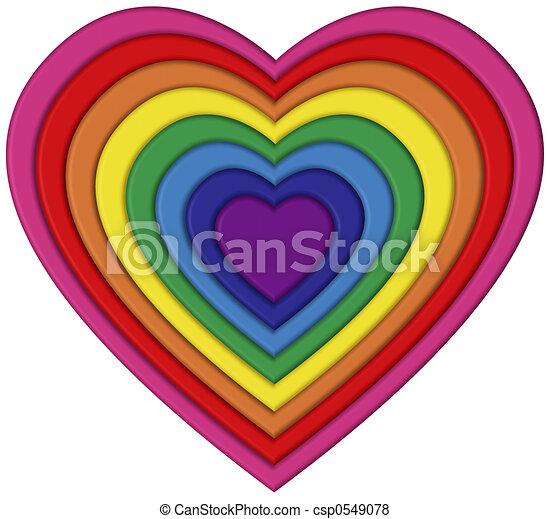Pride Heart - csp0549078
