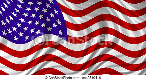 the Stars & Stripes - csp0549416