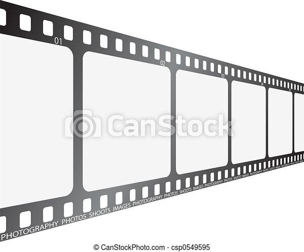 film looking along - csp0549595