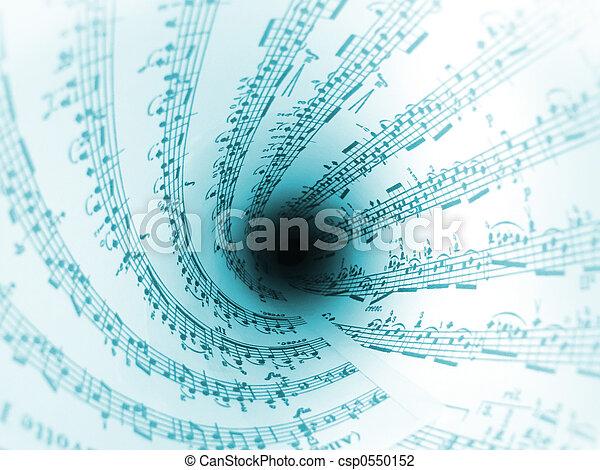 Virvel, musik - csp0550152