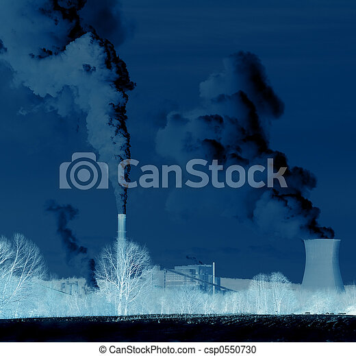Pollution - Abuse of the Environment - csp0550730