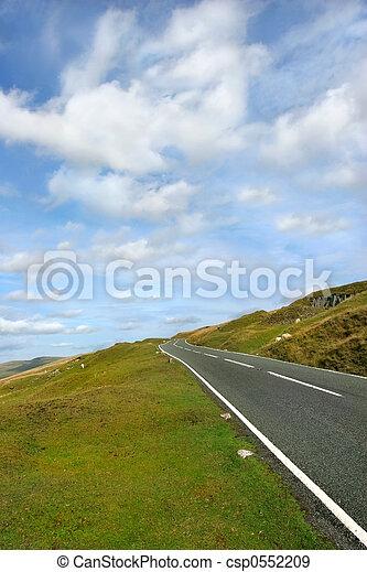Rural Road - csp0552209