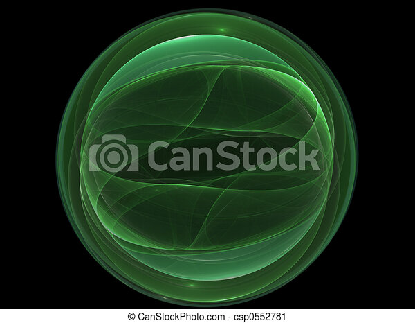 Green Orb - csp0552781