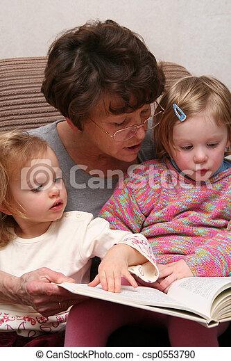 Grandma - csp0553790