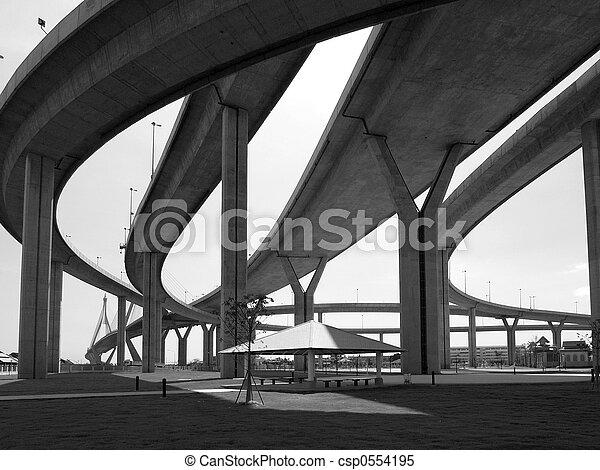 Motorway bridges - csp0554195
