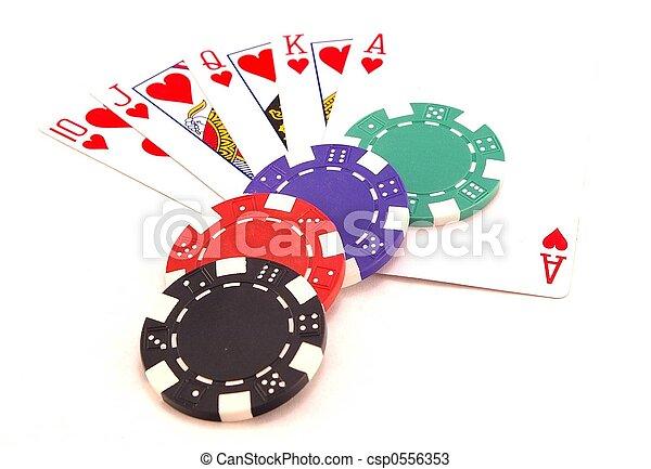 Gambling chips - csp0556353