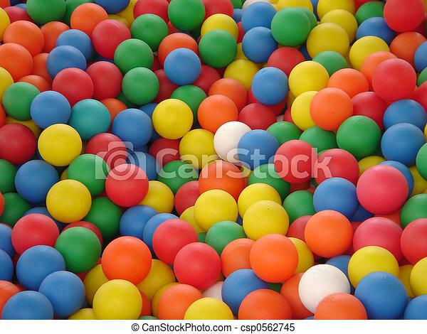 coloured balls - csp0562745