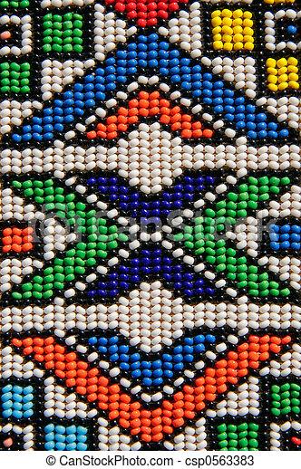 perles, africaine - csp0563383