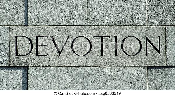 Devotion - csp0563519